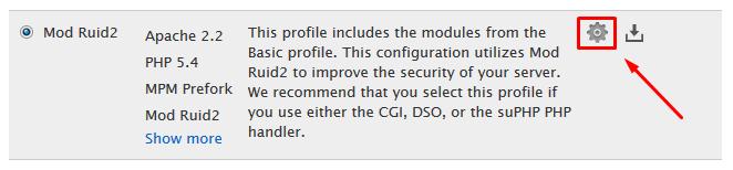 1.1. Customize Profile.