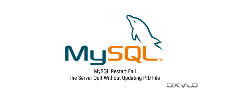 MySQL Restart Failed: The Server Quit Without Updating PID File.
